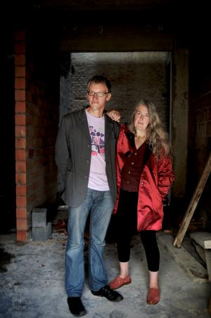 Mary Beard en Tom Holland